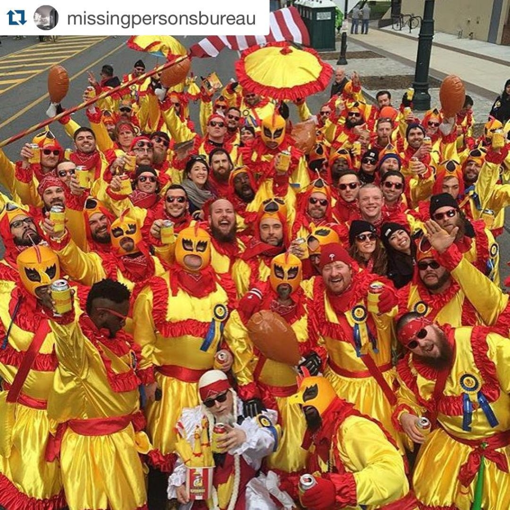 #Repost @missingpersonsbureau with @repostapp. ・・・ Artie and Irene gave me one brother, the New Year gave me these. Couldn't be more grateful. Repost from @chriscamp215 #mollywoppersnyb #Philly #mummers #newyearsday2016 #newtraditions #Repost @missingpersonsbureau with @repostapp. ・・・ Artie and Irene gave me one brother, the New Year gave me these. Couldn't be more grateful. Repost from @chriscamp215 #mollywoppersnyb #Philly #mummers #newyearsday2016 #newtraditions