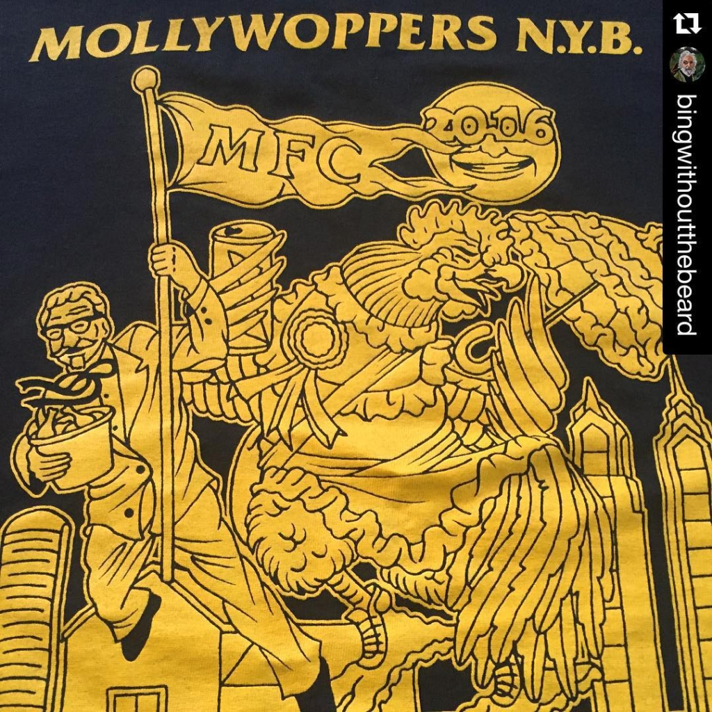 #Repost @bingwithoutthebeard ・・・ #mollywoppersnyb meeting tonight 730pm at omalley club. Let's talk the good, the bad, and the ugly of this years parade. If you marched this year come grab a shirt and drink some beers. #mummers #Philadelphia #loudchallenge #353daystogo