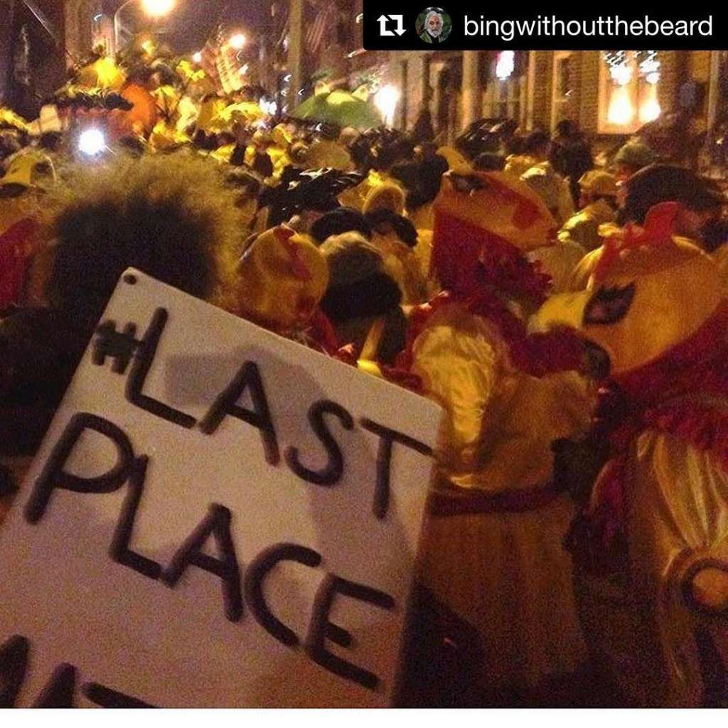 See yous tomorrow! #Repost @bingwithoutthebeard ・・・ #mollywoppersnyb meeting Wednesday 730pm at O'Malley club. Come on out and put some money down on your suit 📸 @vandeverhoman #mollywoppers #mummers #kodb #whodat