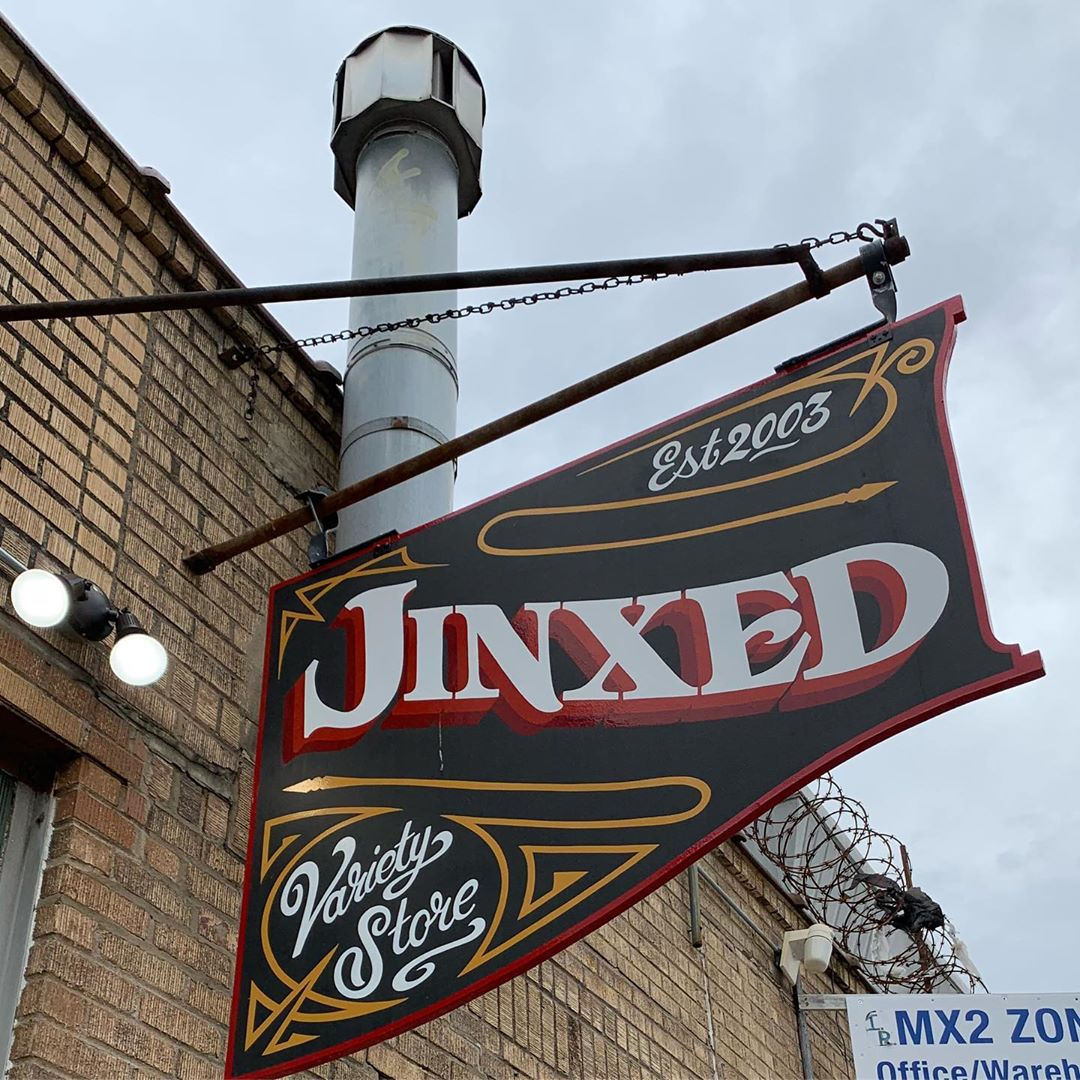 Check out the new @jinxedstore at 2858 Memphis Street!